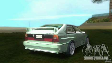 Audi Quattro pour GTA Vice City sur la vue arrière gauche