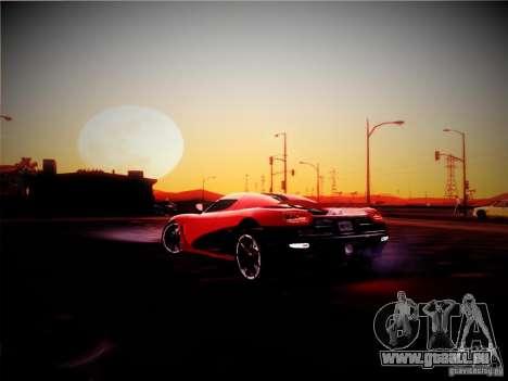 Realistic Graphics 2012 pour GTA San Andreas deuxième écran
