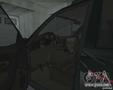 VUS depuis NFS pour GTA San Andreas vue de dessus