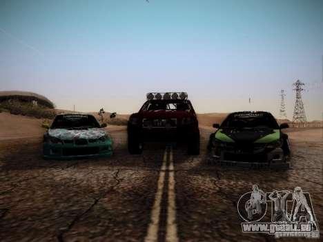 Honda Ridgeline Baja für GTA San Andreas Rückansicht