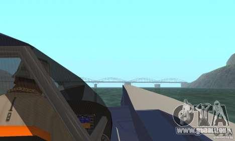 Powerboat pour GTA San Andreas vue arrière