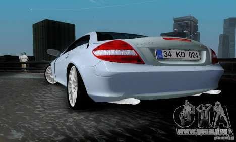 Mercedes-Benz SLK 55 AMG für GTA San Andreas linke Ansicht