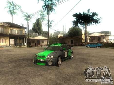 Rover MG ZR EX258 pour GTA San Andreas