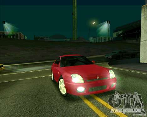 Honda Prelude avec tuning pour GTA San Andreas laissé vue
