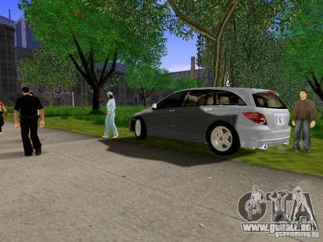 Mercedes Benz R300 pour GTA San Andreas vue arrière