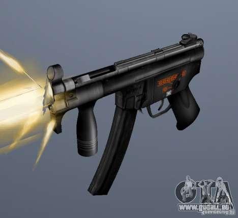 H&K MP5K pour GTA San Andreas
