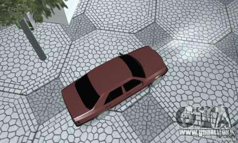 Mercedes-Benz 200D für GTA San Andreas zurück linke Ansicht