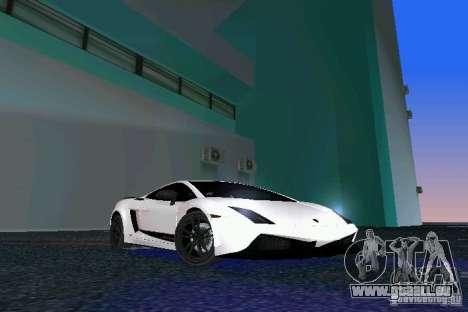 Lamborghini Gallardo LP570 SuperLeggera für GTA Vice City