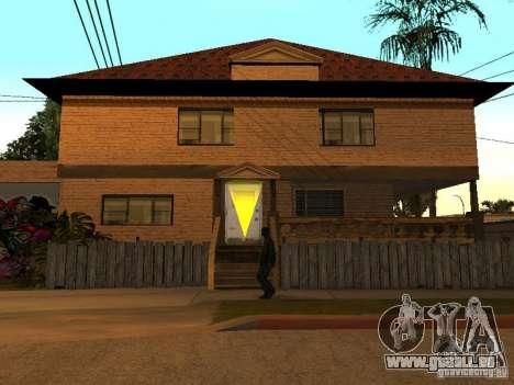 Neue Startseite Cj für GTA San Andreas