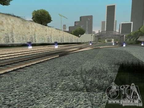 Feux de signalisation ferroviaire pour GTA San Andreas quatrième écran