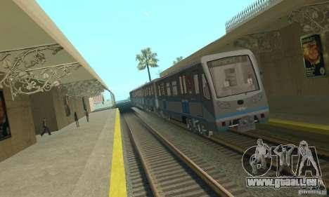 4 Rusich train pour GTA San Andreas
