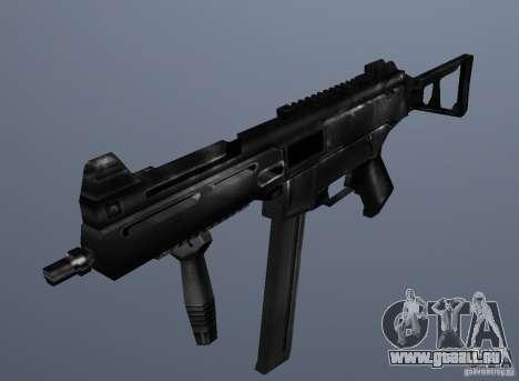 KM UMP45 Counter-Strike 1.5 pour GTA San Andreas deuxième écran