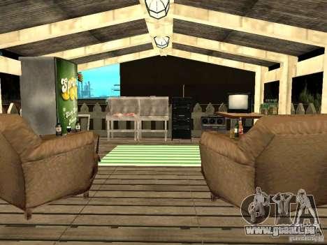 New Grove Street TADO edition pour GTA San Andreas douzième écran