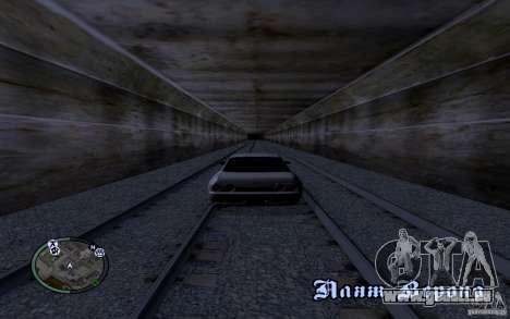 Russische Rails für GTA San Andreas fünften Screenshot