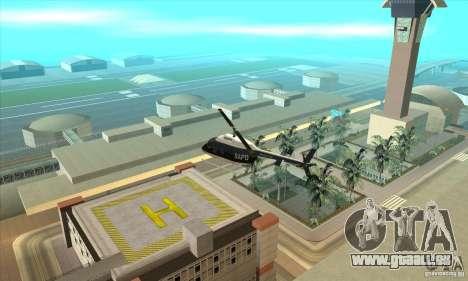 Police Maverick 2 für GTA San Andreas linke Ansicht