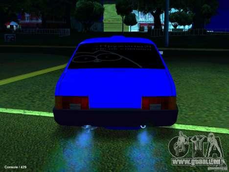 VAZ 21099 Turbo pour GTA San Andreas vue de droite