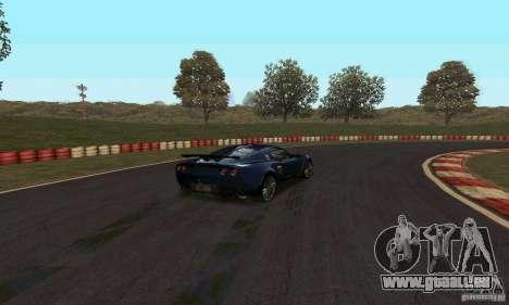 Piste GOKART Route 2 pour GTA San Andreas deuxième écran