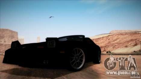Pontiac Firebird Trans Am für GTA San Andreas Seitenansicht