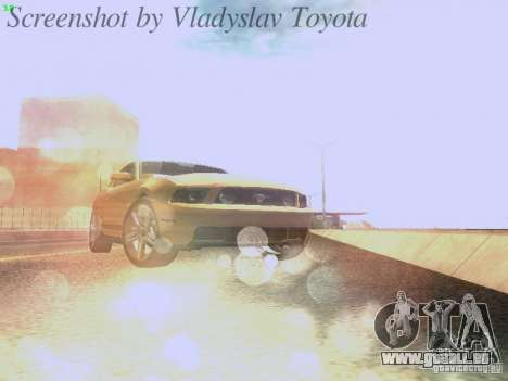Ford Mustang GT 2011 pour GTA San Andreas