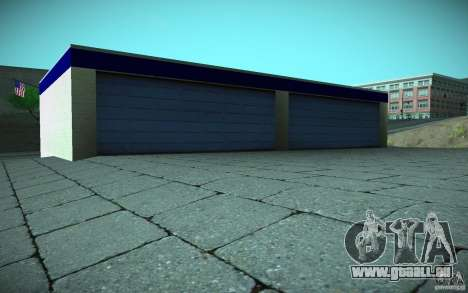 HD Garage in Doherty für GTA San Andreas siebten Screenshot