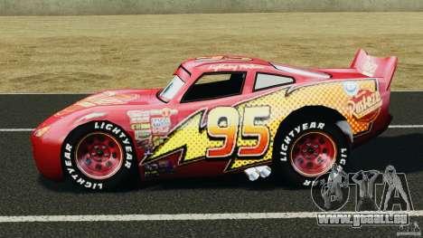 Lightning McQueen pour GTA 4 est une gauche