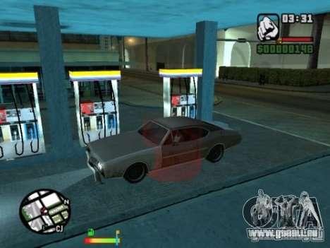 Benzin für GTA San Andreas