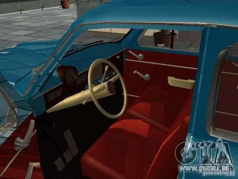 Moskvitsch 423 für GTA San Andreas rechten Ansicht