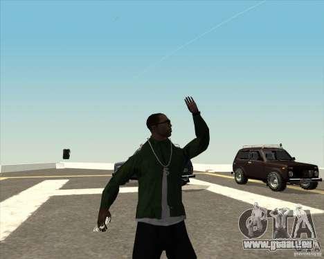 Animation différente pour GTA San Andreas sixième écran