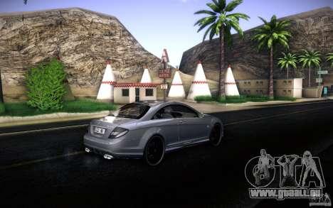 Mercedes Benz CL65 AMG pour GTA San Andreas vue de côté