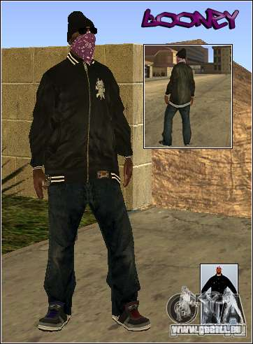 Skin Pack Getto pour GTA San Andreas troisième écran