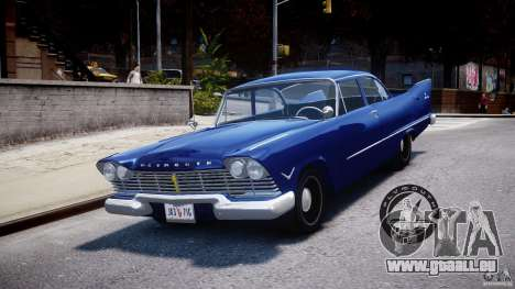 Plymouth Savoy Club Sedan 1957 für GTA 4
