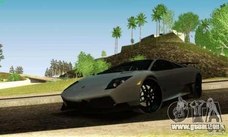 Lamborghini Murcielago LP 670-4 SV pour GTA San Andreas vue de côté