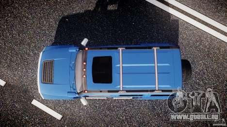 Hummer H3 für GTA 4 rechte Ansicht