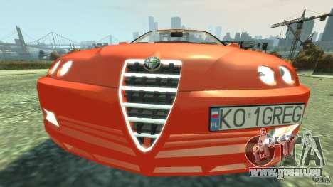 Alfa Romeo GTV Spider pour GTA 4 est un côté