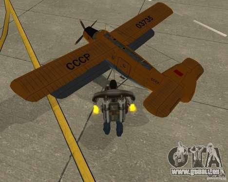 An-2V pour GTA San Andreas laissé vue