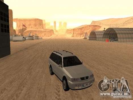Volkswagen Passat B4 pour GTA San Andreas laissé vue