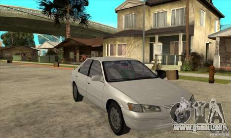 Toyota Camry 2.2 LE 1997 pour GTA San Andreas vue arrière