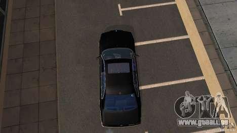 BMW E38 750LI pour GTA San Andreas vue de droite