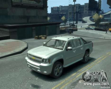 Chevrolet Avalanche Version Pack 1.0 pour GTA 4