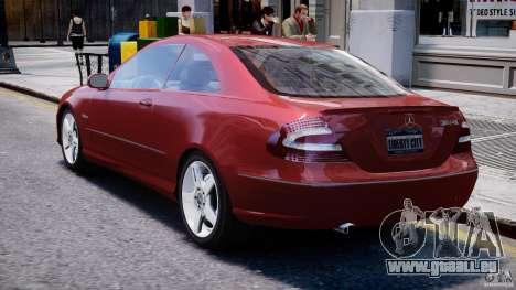 Mercedes-Benz CLK 63 AMG 2005 pour GTA 4 est un droit
