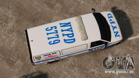 Polizei Speedo für GTA 4 rechte Ansicht
