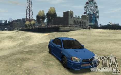 Subaru Impreza WRX STi v1 2004 für GTA 4 Rückansicht