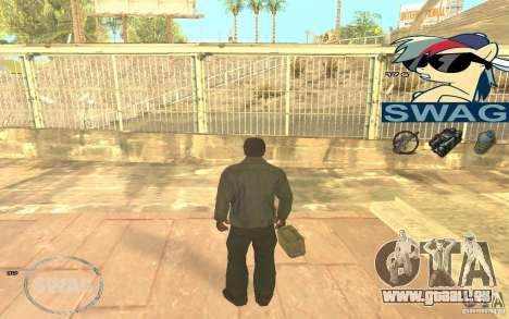 C-HUD Pony SWAG pour GTA San Andreas troisième écran