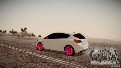 Opel Astra 2010 für GTA San Andreas linke Ansicht