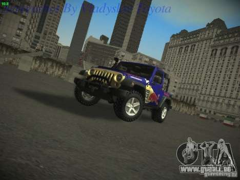 Jeep Wrangler Red Bull 2012 für GTA San Andreas