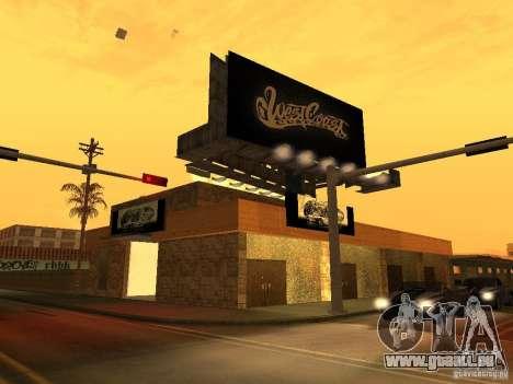 New PaynSpay: West Coast Customs für GTA San Andreas zweiten Screenshot