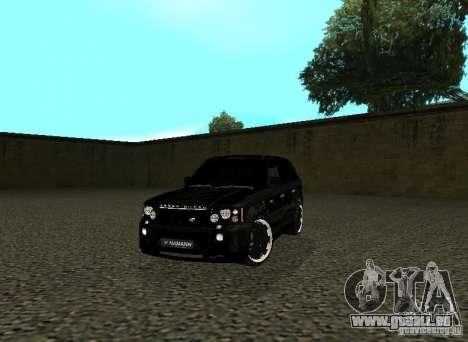 Land Rover Range Rover Sport Hamann für GTA San Andreas
