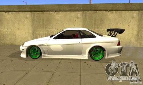 Toyota Soarer pour GTA San Andreas laissé vue