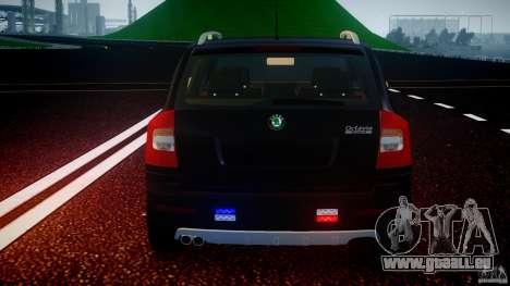 Skoda Octavia Scout Unmarked [ELS] pour le moteur de GTA 4