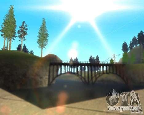 Real World ENBSeries v3.0 pour GTA San Andreas troisième écran
